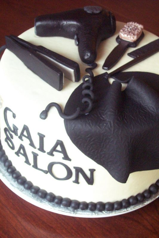 pin hair salon on a budget cake on pinterest