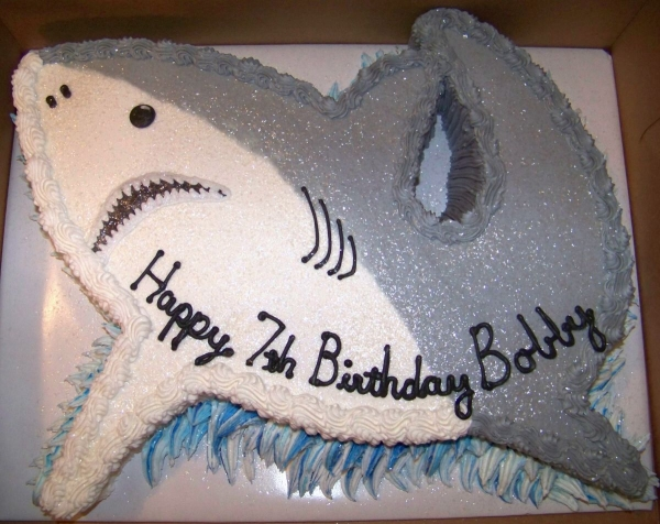 how to make a fish shaped cake