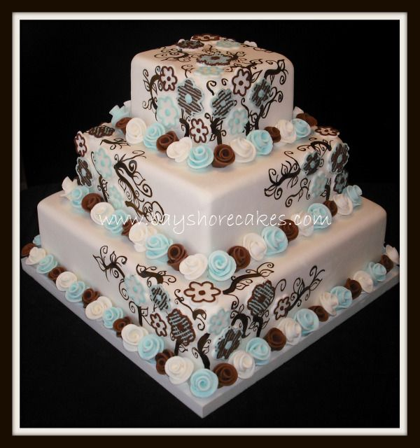 Tiffany Blue & Brown Wedding | Weddings, | Wedding Forums ...