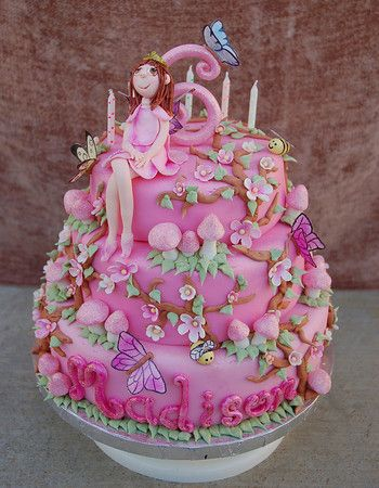 Fairy Princess Cake Images : fairy princess birthday cake - get domain pictures ...
