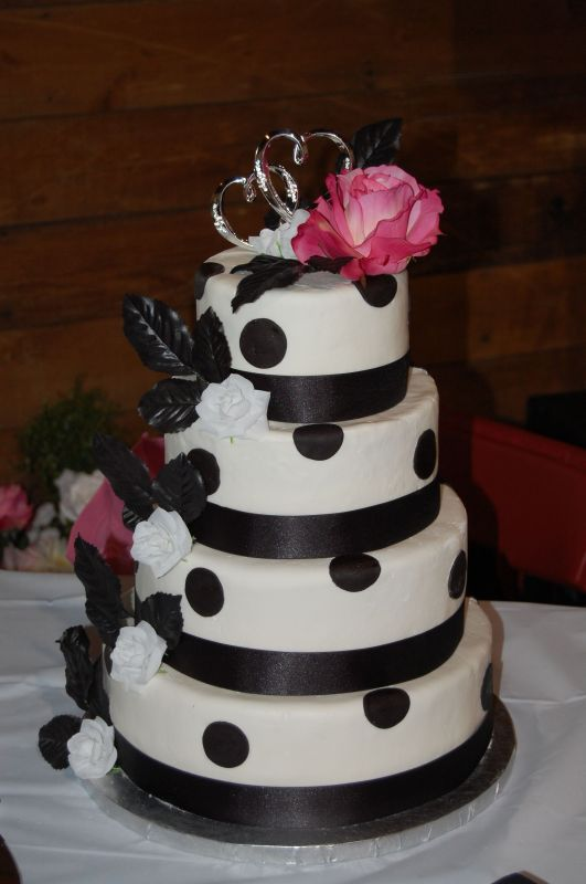 Black And Pink Wedding Cakes. next ». Black amp; White
