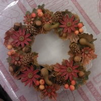thanksgiving-cupcake-wreath