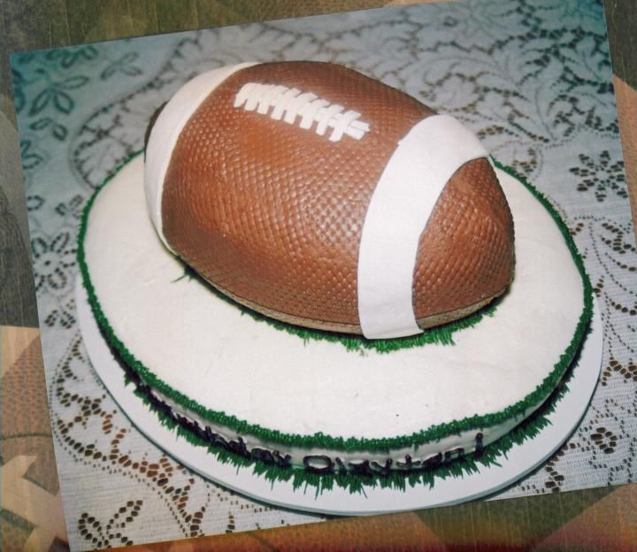 Football Cake Uploaded By: DebBTX. This cake was my Southern Butter recipe