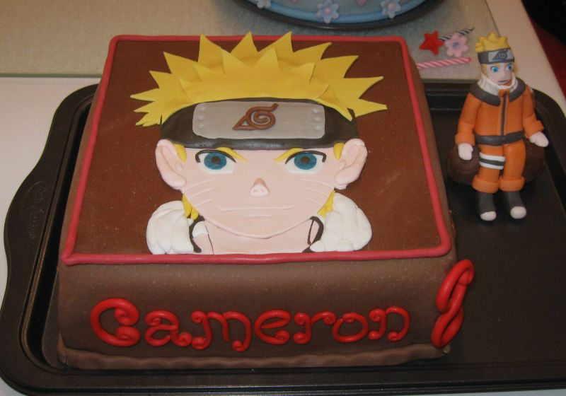 Naruto Birthday Cake Picture