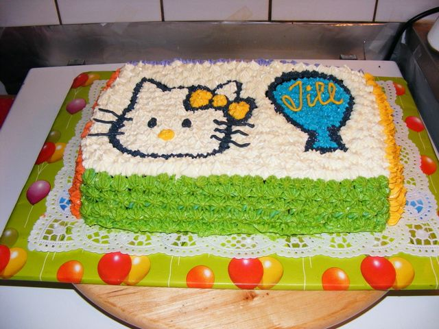 Hello Kitty Birthday Cake Uploaded By: Homemade-Goodies