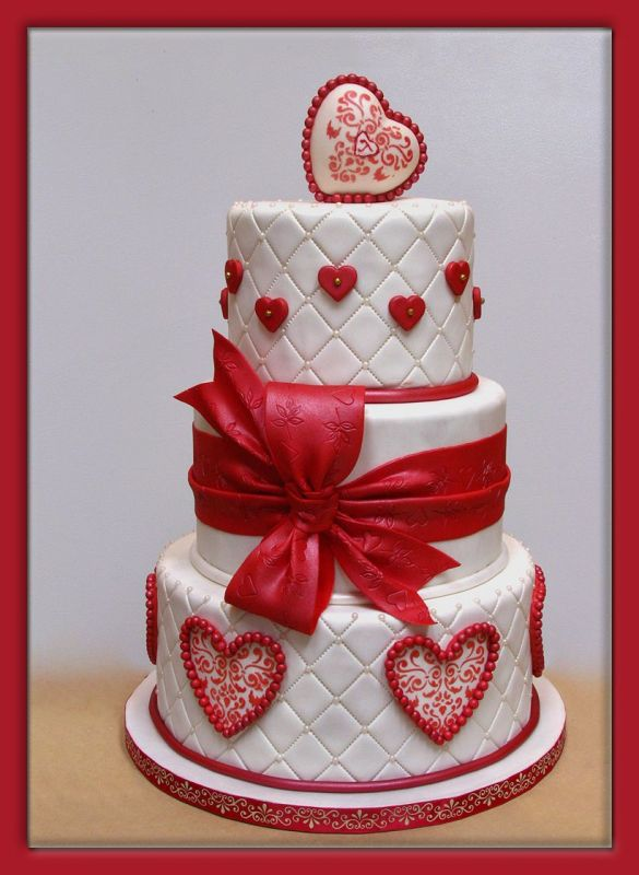 eye candy valentine wedding cakes reception project wedding forums. Black Bedroom Furniture Sets. Home Design Ideas