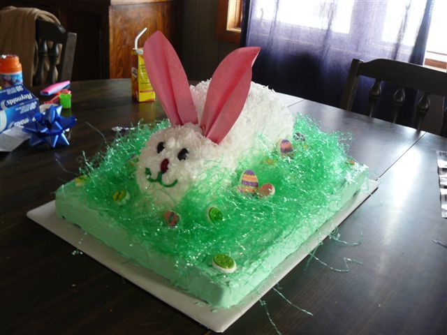 easter bunny cake images. Easter Bunny Cake
