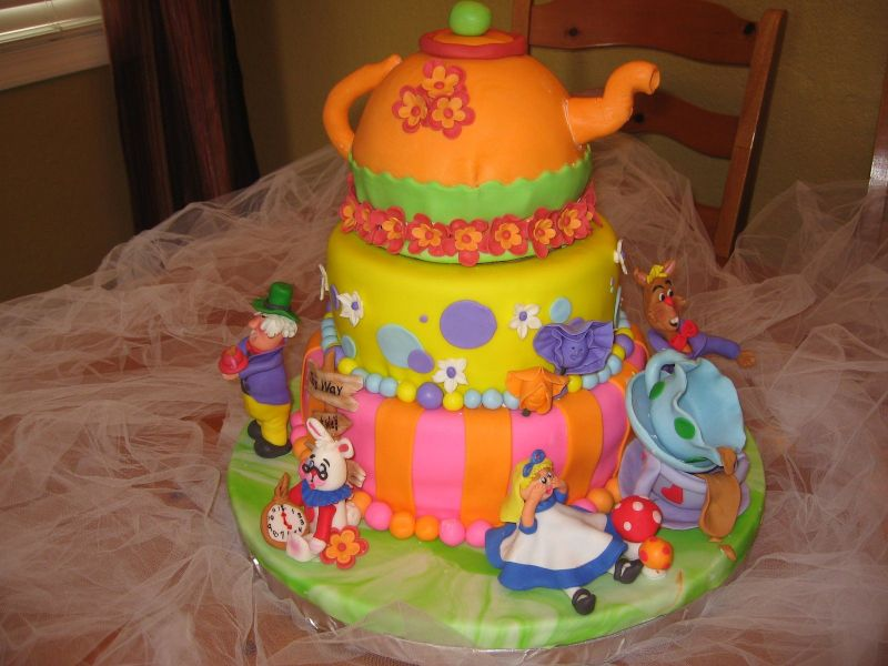 Famous Mad Hatter Wedding Cakes