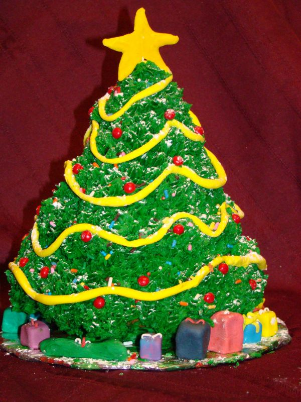 Christmas Cake Design Recipes : Best Christmas Tree Cake Picture - Best Collections Cake ...