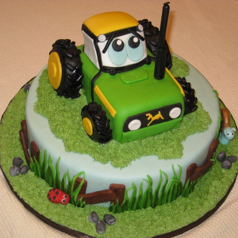birthday cupcakes clipart. tractor Birthday Cake Clip Art