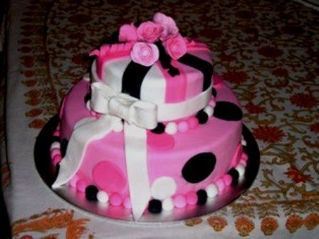 Teen Birthday cake. By: marieantao. A friends teenage daughter gave me the ...