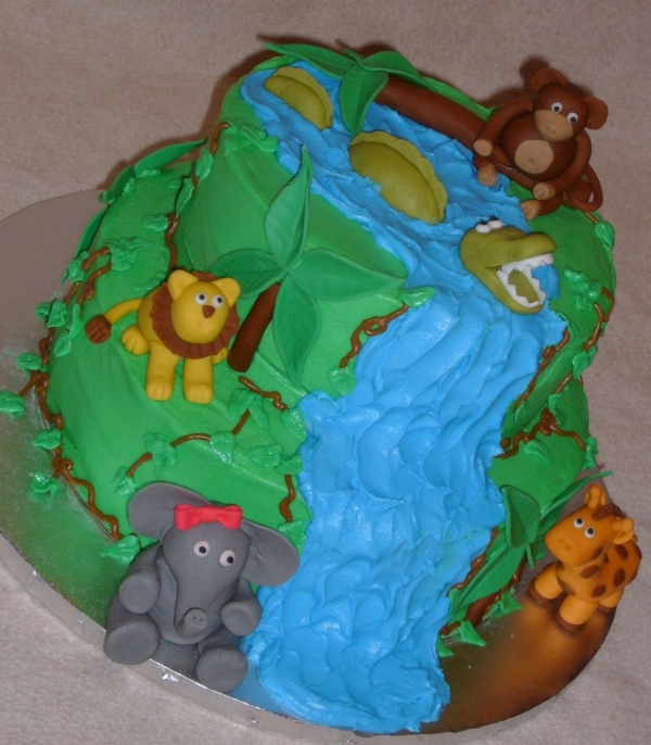 Zoo Birthday Cake, Zoos And