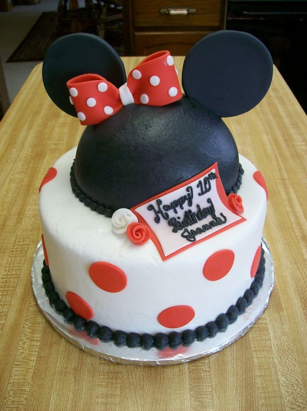 minnie mouse cake. Minnie Mouse birthday