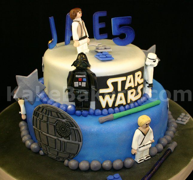 Star Wars Lego Cake Toppers