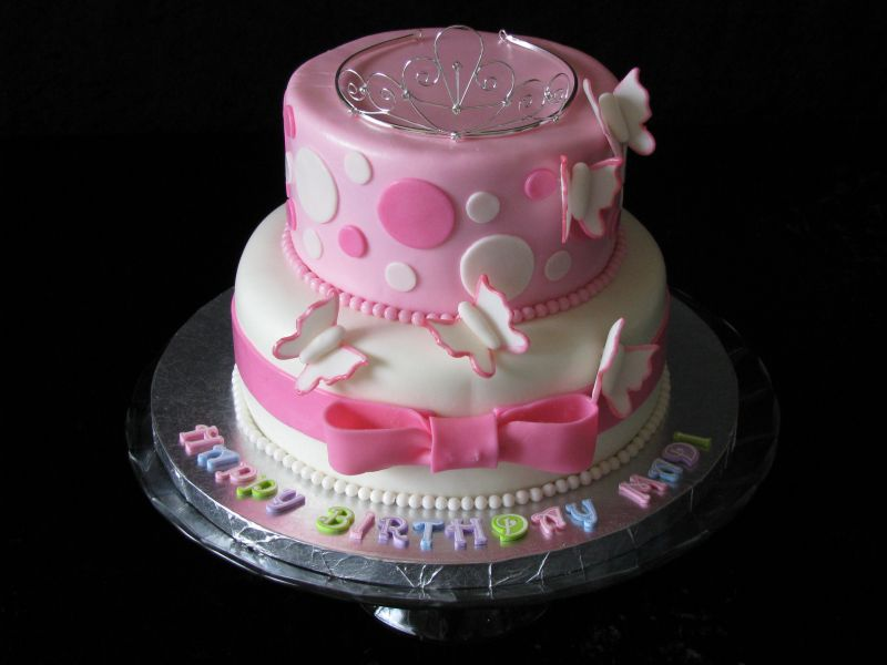 Pretty in Pink Princess Cake Uploaded By: jolie1977. Birthday Cake for my