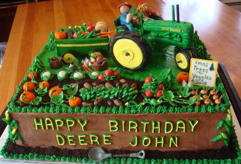 Tips For Make John Deere Cake Chocolate Recipes Galleries