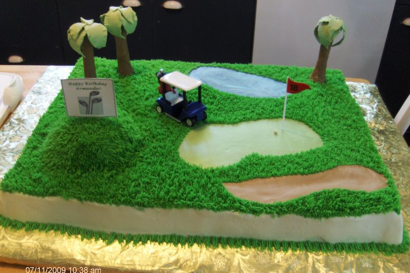 Golf Course Cake Design : Best Designed Golf Cakes Joy Studio Design Gallery ...