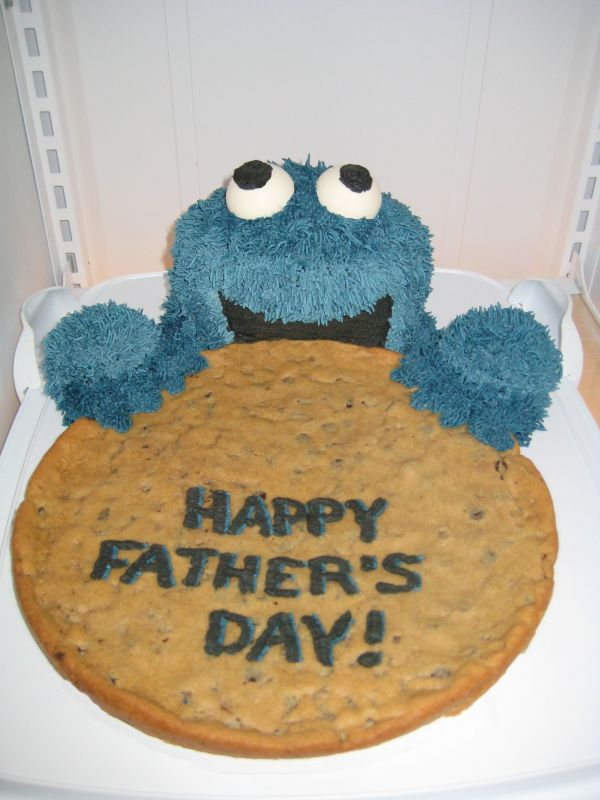 cookie monster cake. Cookie Monster