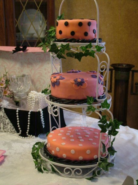 Parisian Theme Bridal Shower Cake By lisab9545