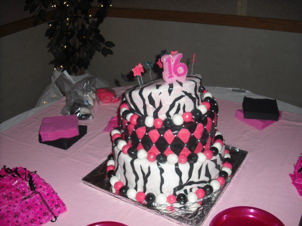 Sweet 16th birthday cakes decorating ideas for 16th birthday decoration