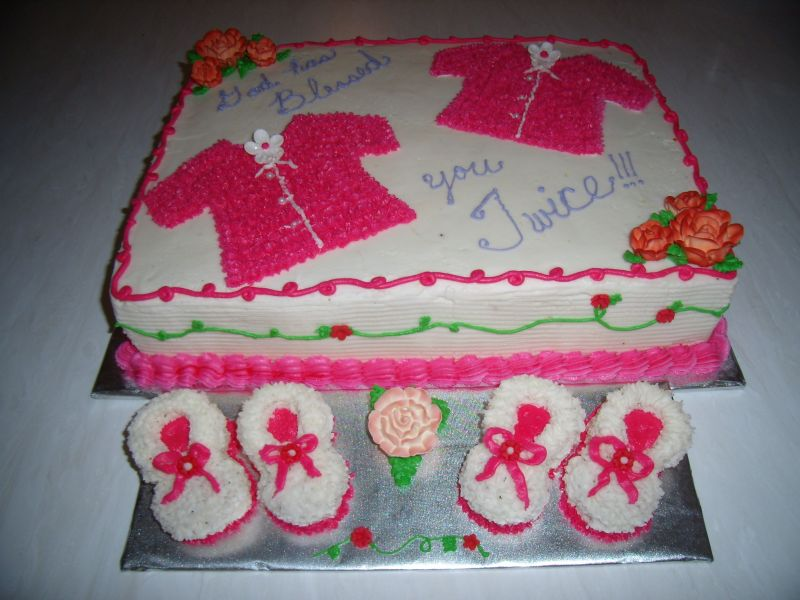 Simple Baby Shower Cakes For Girls
