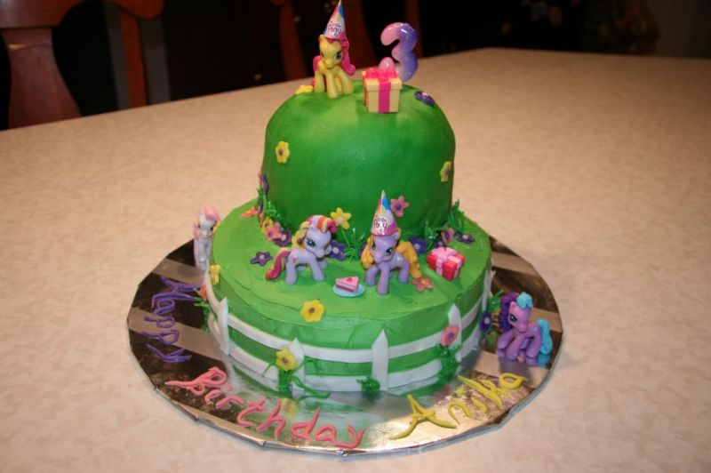 My Little Pony Birthday Cake Decorations Image Inspiration of