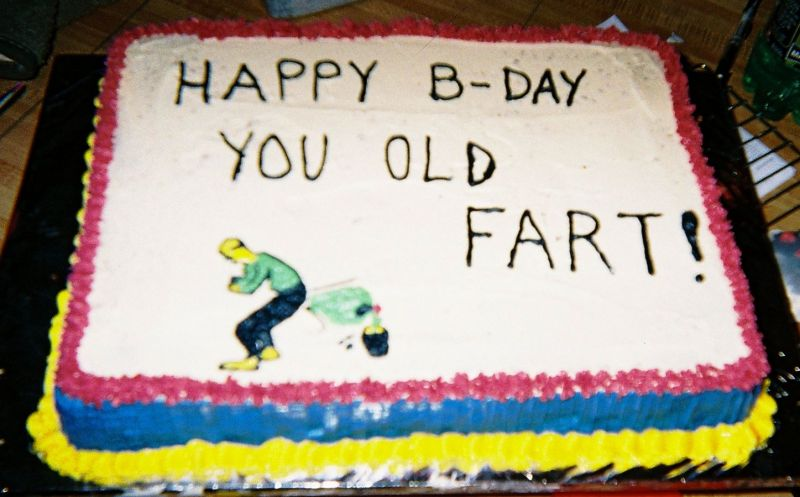 Old Fart cake. Uploaded By: suzq102574