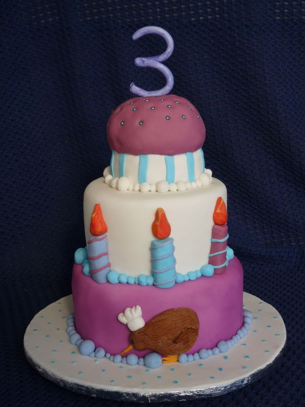 Funny 3th Birthday Cakes